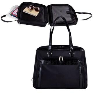 Goodhope Women's Croc Print Checkpoint-friendly Laptop Tote Bag