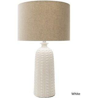 Hollywood Table Lamp with Glazed Ceramic Base (2 options available)