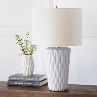 Intect Table Lamp with Concrete Base