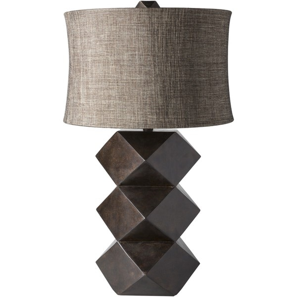 Lewis Table Lamp with Painted Resin Base