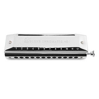 Hering Harmonicas 5248 Deluxe Chromatic 48 Harmonica - Key of C
