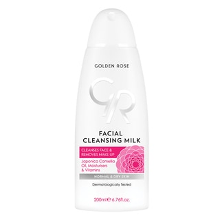 Golden Rose Facial 6.7-ounce Cleansing Milk for All Skin Types