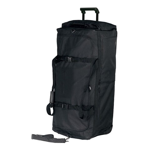 Goodhope Polyester 38-inch Rolling Duffel Bag