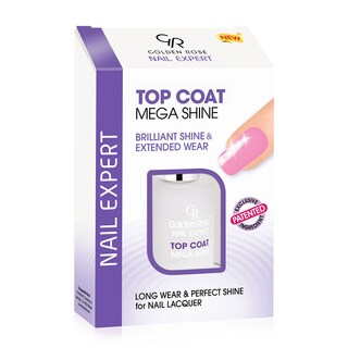 Golden Rose Top Coat Mega Shine Brilliant Shine & Extended Wear