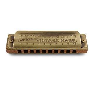 Hering Harmonicas 1020D Diatonic Vintage Harp 1923 Key of D Harmonica
