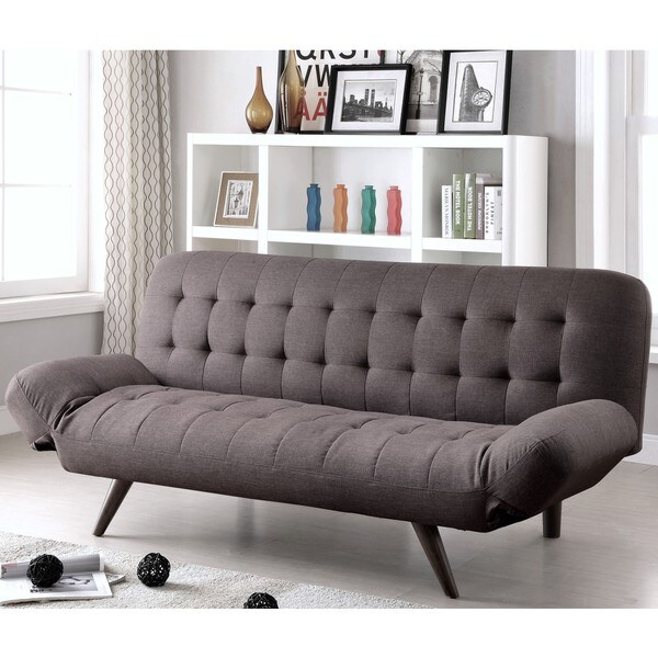 Great Mid Century Modern Design Tufted Convertible Sofa Bed