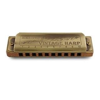 Hering Harmonicas 1020C Diatonic Vintage Harp 1923 Harmonica in the Key of C
