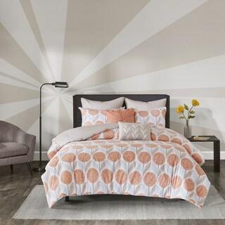 Urban Habitat Stella Coral Printed 7-piece Comforter Set