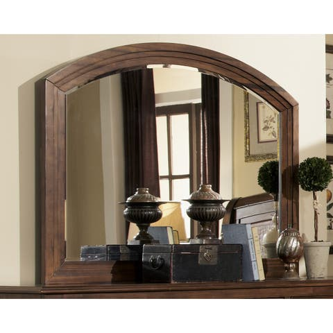 Coaster Company Laughton Brown Wood Dresser Mirror