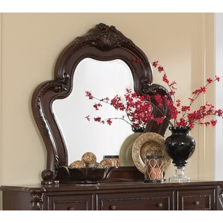 Coaster Company Abigail Collection Curved Wood Mirror