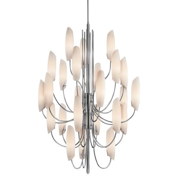 Kichler Lighting Stella Collection 24-light Chrome Chandelier