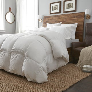 European Heritage Krakow White Goose Down Oversize Summer Weight Comforter