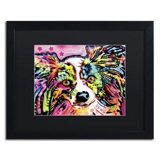 Dean Russo 'Papillon 9149' Matted Framed Art