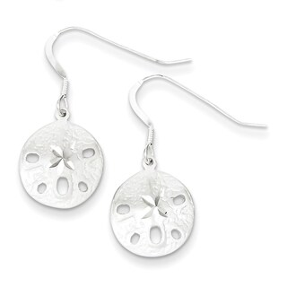 Sterling Silver Sand Dollar Earrings by Versil