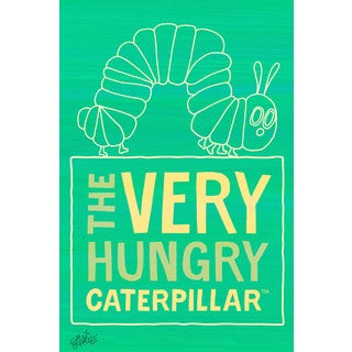 Marmont Hill 'The Very Hungry Caterpillar 2' by Eric Carle Painting Print on Canvas