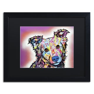 Dean Russo 'Collied' Matted Framed Art