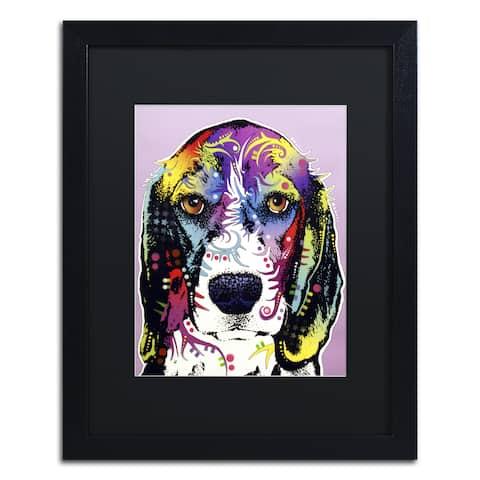 Dean Russo '4 Beagle' Matted Framed Art
