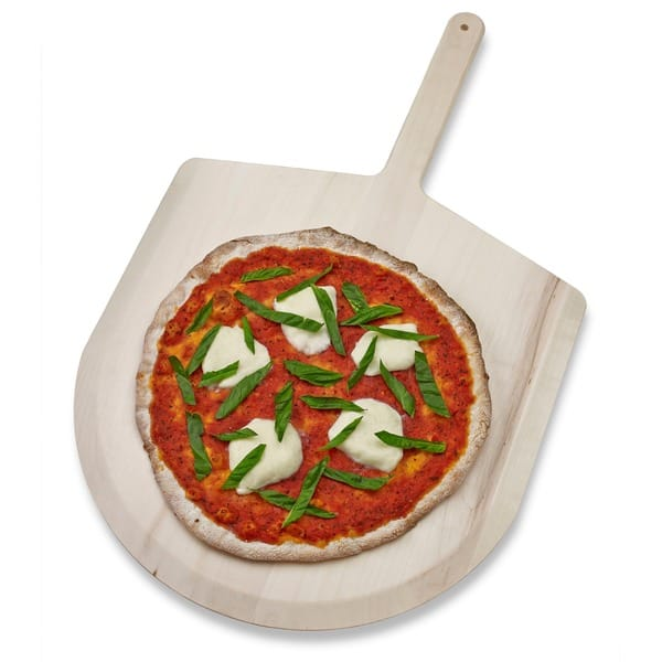 Shop Black Friday Deals On Honey Can Do Basswood 16 Inch Pizza Peel Overstock 12206224