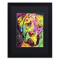 Dean Russo 'Mastiff II' Matted Framed Art