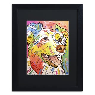 Dean Russo 'Dakota II' Matted Framed Art