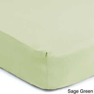 Sealy Therma-Fresh Temperature Responsive Moisture Wicking Fitted Crib Sheet