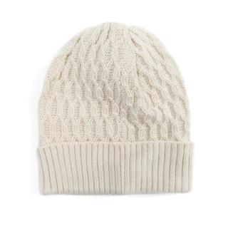 Muk Luks Women's Acrylic Textured Cuff Cap