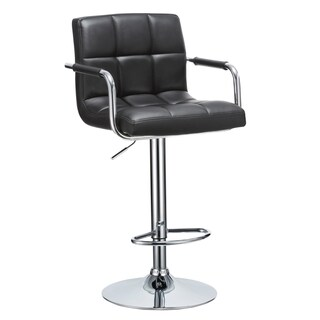 Porthos Home Hanson Faux Leather Adjustable Bar Stool (2 options available)