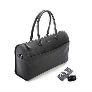 Royce Leather Barrel Bag Travel Set|https://ak1.ostkcdn.com/images/products/12206352/P19053318.jpg?impolicy=medium