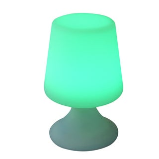 Bellini Multicolored Plastic 10-inch LED Table Lamp