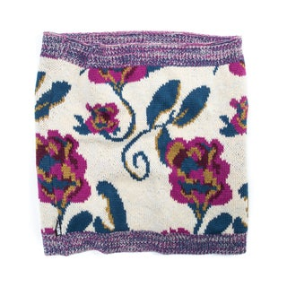 Muk Luks Women's Acrylic Floral Funnel