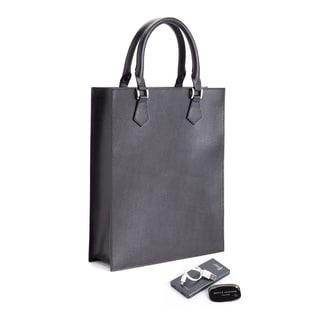 Royce Leather Slim Tote Bag Travel Set