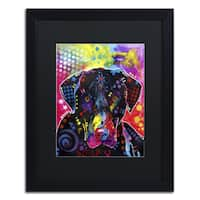 Dean Russo 'The Labrador' Matted Framed Art
