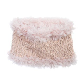 Muk Luks Women's Acrylic/ Polyester Faux Fur Textured Romance Funnel
