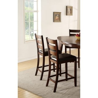 LYKE Home Elijah Set of 2 Counter Height Chairs