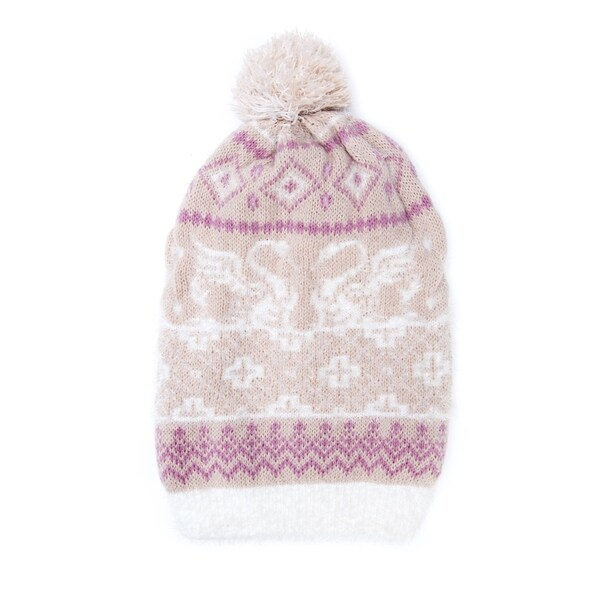 Shop Muk Luks Women s Acrylic  Nylon Romance Slouch Beanie - Free Shipping  On Orders Over  45 - Overstock - 12206449 05c7f129ea