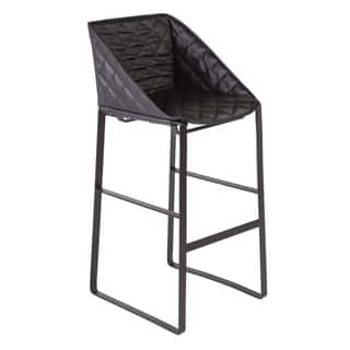 Hans Andersen Home Fairman Black Leatherette Barstool|https://ak1.ostkcdn.com/images/products/12206526/P19053480.jpg?impolicy=medium