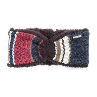 Muk Luks Women's Acrylic/ Polyester Block Stripe Headband