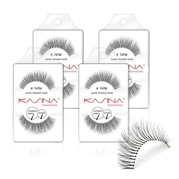 Shop Kasina 747m False Eyelashes Pack Of 4 Ships To Canada