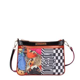 Nicole Lee Butterfly Print Mini Crossbody Handbag