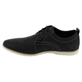 Arider AD05 Men's Two Tone Lace-up Flat Heel Office Oxfords