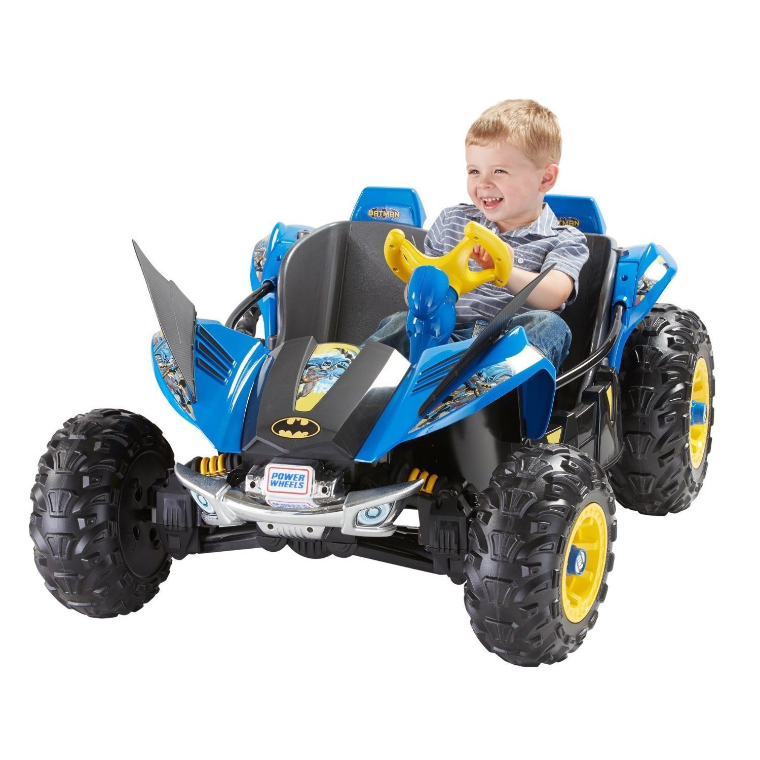 Fisher Price Power Wheels Batman Dune Racer (DMT54), Black