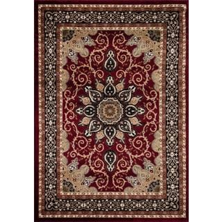 Persian Rugs Oriental Traditional Muilti Colored Area Rug (9' x 12'6)