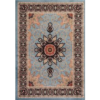Persian Rugs Oriental Traditional Muilti Colored Area Rug (4' x 5'3)
