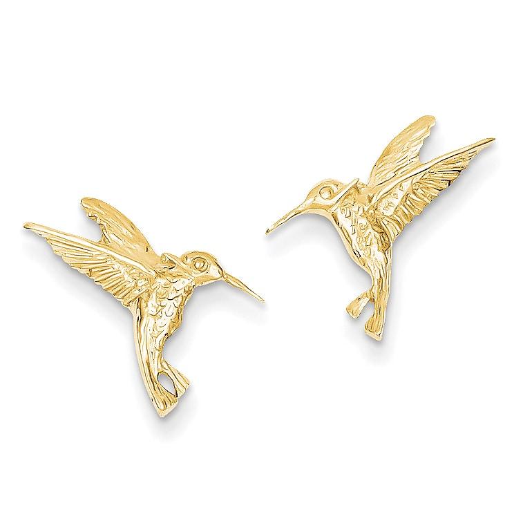 14k Hummingbird Post Earrings by Versil (Post & Push Back...