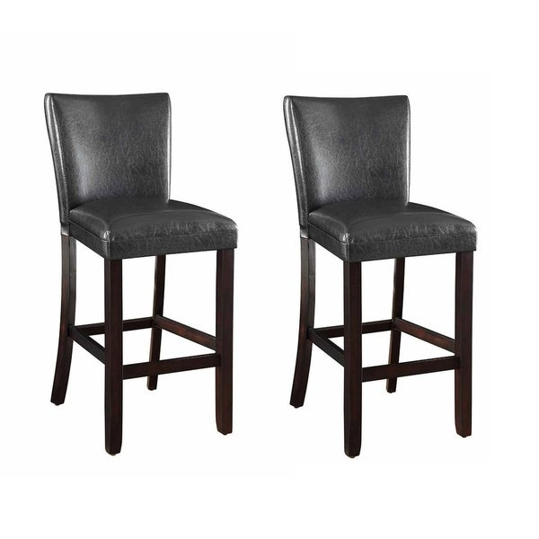 Shop Coaster Company Brown 29 Inch Counter Height Stool Set Of Two