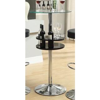 Coaster Company Black Metal Bar Table