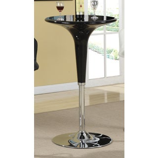 Coaster Company Black Metal Bar Height Table
