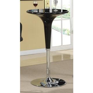 Black Metal Bar Height Table