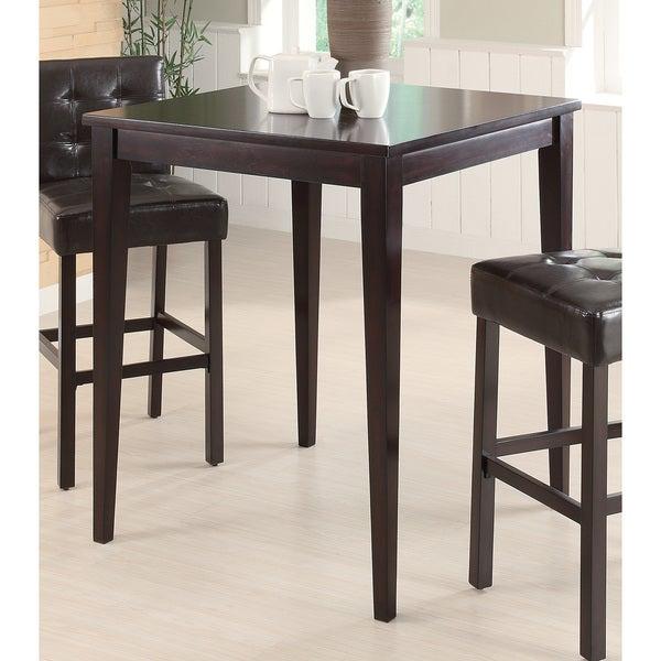 Coaster Company Brown Wood/ Veneer Pub Height Table