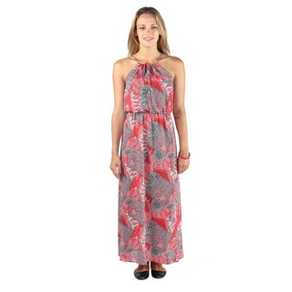 Hadari Women Sleeveless Maxi Dress